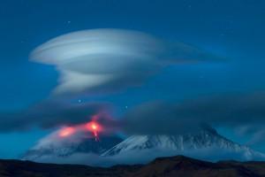 НЛО в виде облака